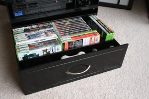 where do you keep your games