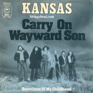 Kansas Carry On My Wayward Son