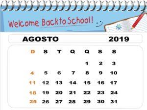 calendário aulas