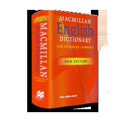 dicionário em inglês Macmillan