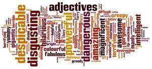 como usar adjetivos em inglês