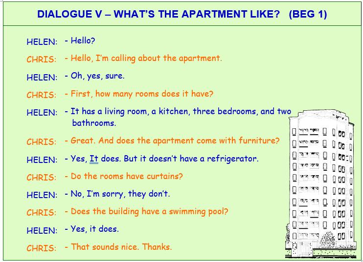 inglês com diálogos